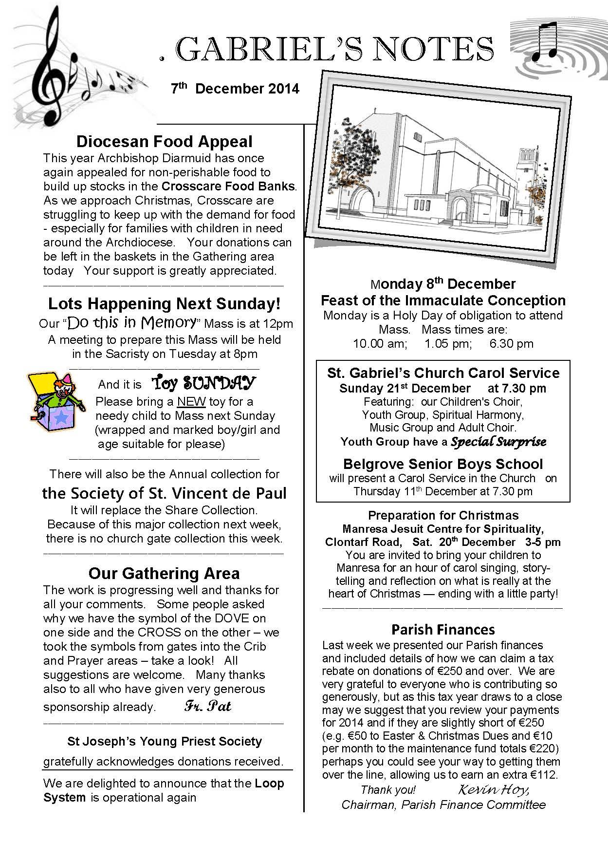 St Gabriels Parish Page 21 The Website Of The Parish Of St Gabriel