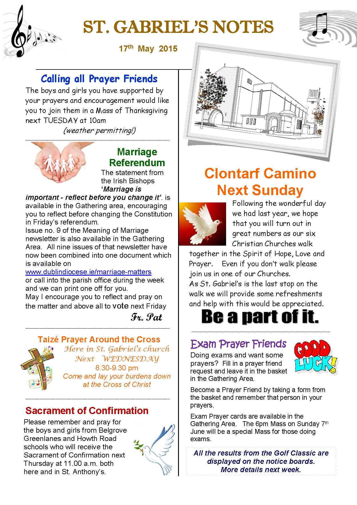 Parish Notes 17th May